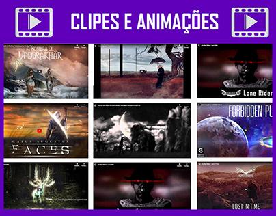 Alguns video clips e animações
