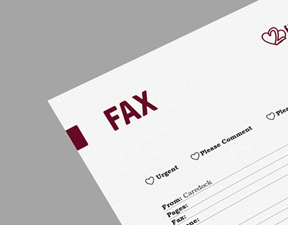 Stylish Fax for the Haart2Heart Physiotherapy.