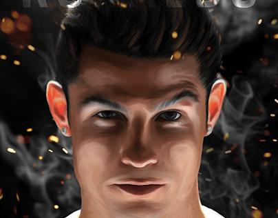 digital art -Cristiano Ronaldo
