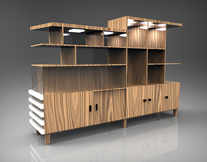 Mr. Hana's Middle Cabinet