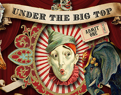 Vintage Circus Graphics By: Eclectic Anthology