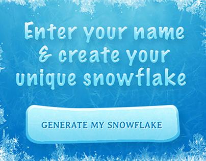 Snowflake-Generating App