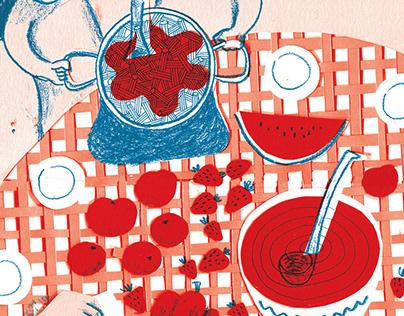 Sopar vermell / Red dinner