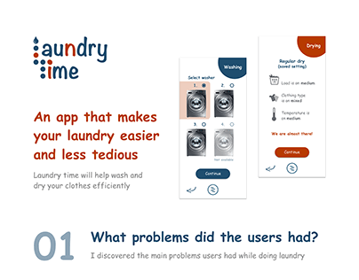 Laundry Time App