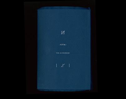 -UTA- THE NOVEMBERS Lyric Book