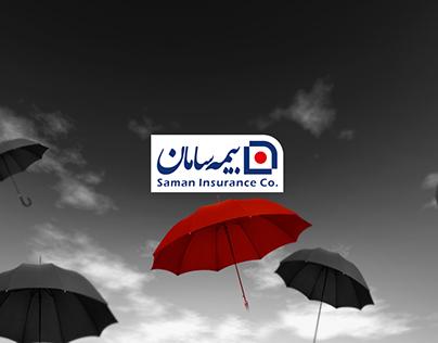 Saman Insurance Brochure Design