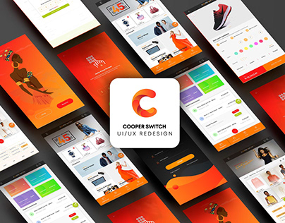 Mobile and Web UI/UX Redesign | CooperSwitch