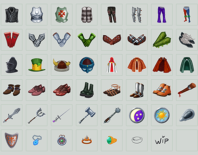 Game items