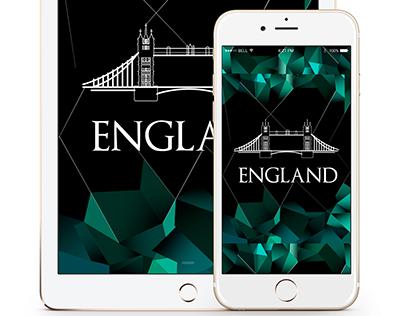App Contry Brand - ENGLAND