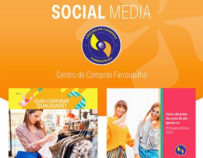Social Media | Centro de Compras Farroupilha