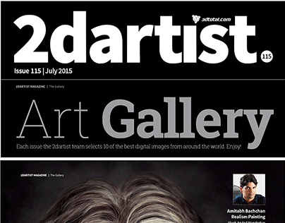 2DARTIST MAGAZINE Feature