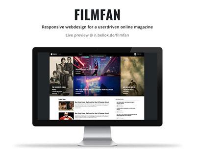 FILMFAN Webdesign