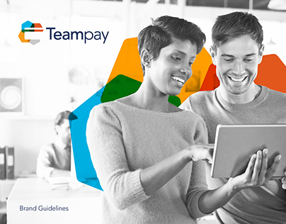 Teampay logo and branding