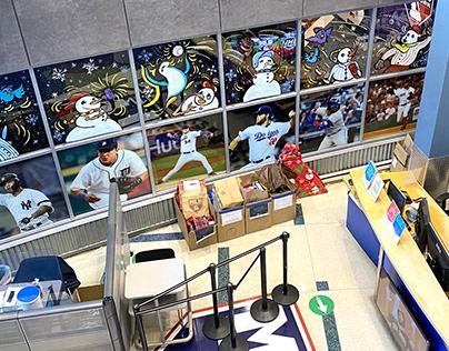 MLB office - Winter Windows