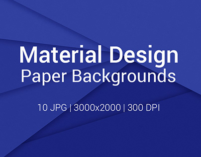10 Material Design Paper Backgrounds