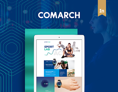 Comarch - Corporate Identity -  Redesign Concept