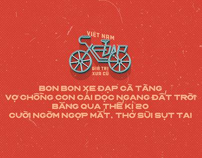 Việt Nam - Xe Đạp - Giá trị xưa cũ