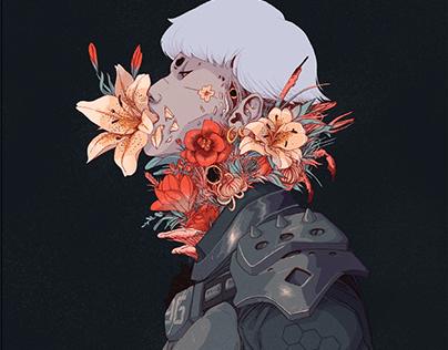 Cagibi Fanzine illustration - Blossom
