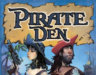 Pirate Den™ – Box Art
