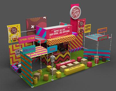 Toracafe Jacloth Festival Booth
