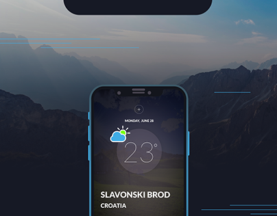 Simple Weather App Design