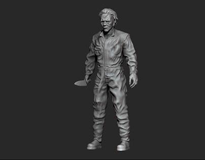Michael Myers Figurine - 3D Printing
