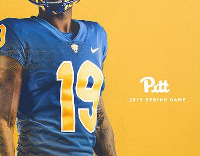2019 Pitt Football - Spring Game Poster