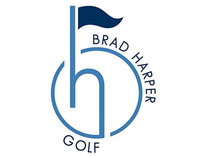 Logo designed for Brad Harper Golf