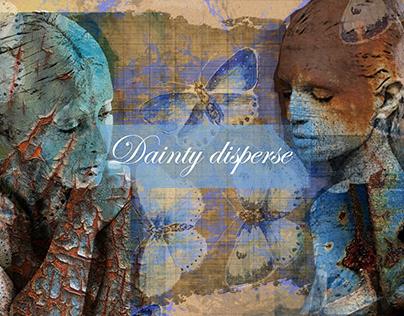 DAINTY DISPERSE (Denim project)