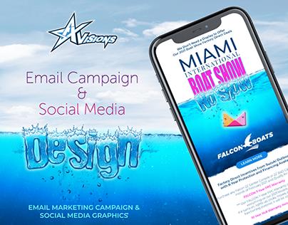 Email Campaign Design / FALCON BOATS