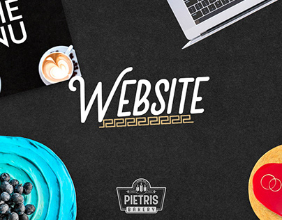 Web Design & Development - Pietris Bakery