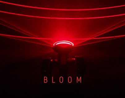 BLOOM | Kinetic Laser and Sound Installation