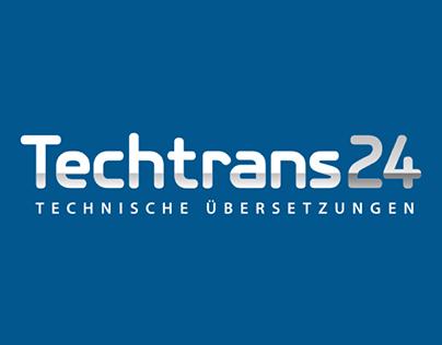 Techtrans24.eu logo & website