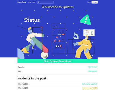 StatusPage Design 2020