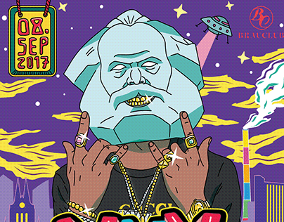 DJ MaXXX Bday Bash Artwork