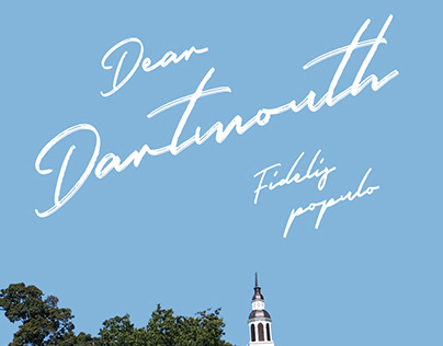 Dear Dartmouth Marketing Poster