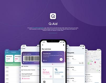 Q-AID application | UI & UX