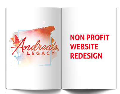 Andrea's Legacy - Web Redesign