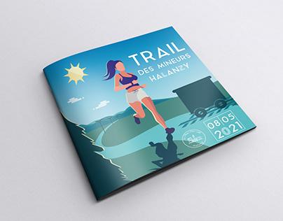 "Illustration for ""La mine hier""'s annual trail"