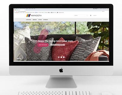 E-commerce Website mockup | Maynooth Furniture
