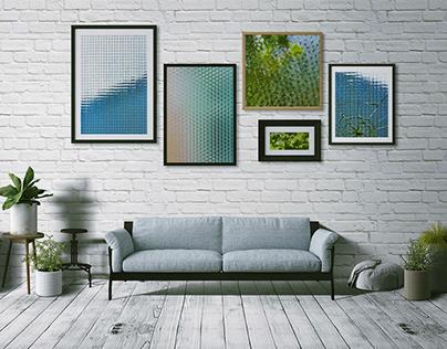 Water Glass Frames