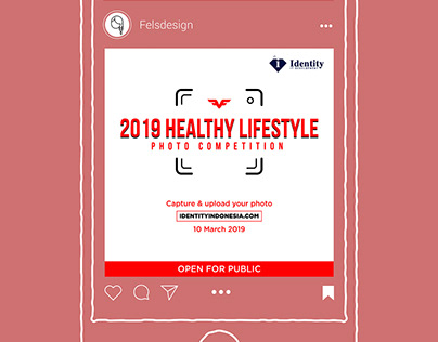 Photo Contest Instagram Flyer