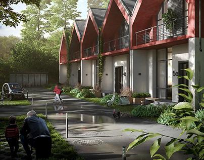 CGI: Residential buildin in Norway