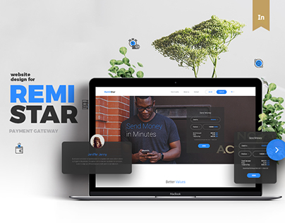 RemiStar Remittal Service - Website Design