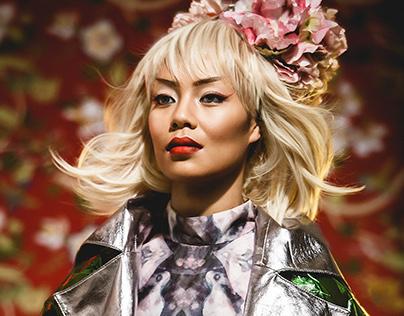 Brooke Lepou for Oriental Fashion Editorial