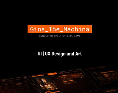 Cyberpunk RPG UI & Art Concept