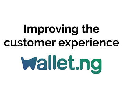 Wallet.ng Support Page: Content Strategy
