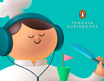 Penguin Audiobooks - Stories Anywhere - Print Campaign
