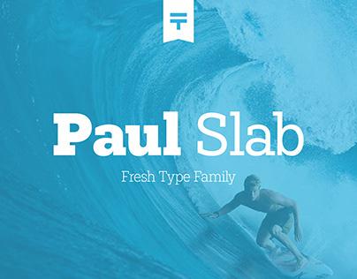 Paul Slab (Free) Font