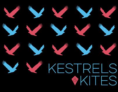 Kestrels & Kites - Band T-shirt Design